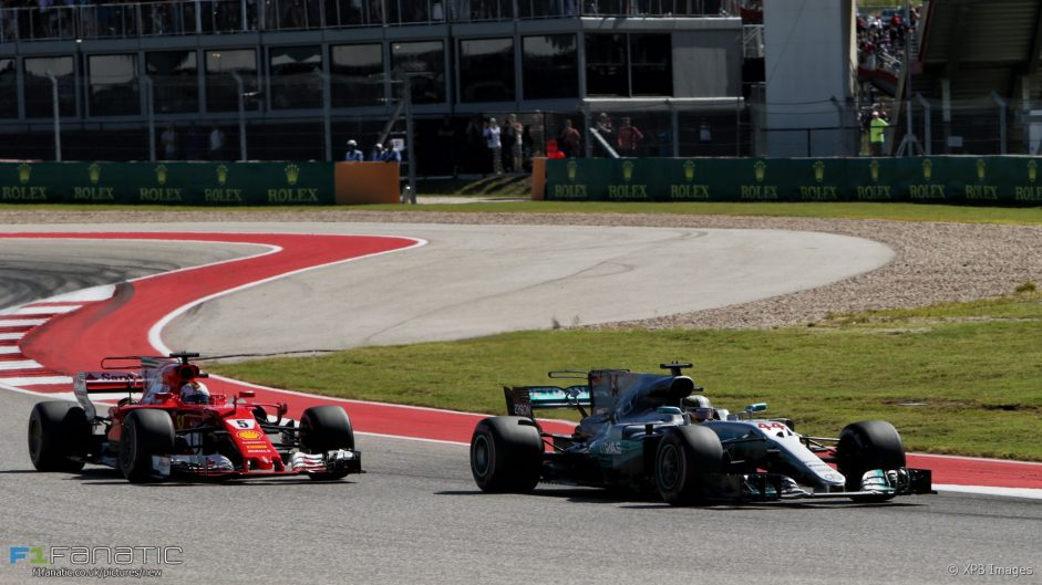 Hamilton: Vettel killed his tyres in the first stint