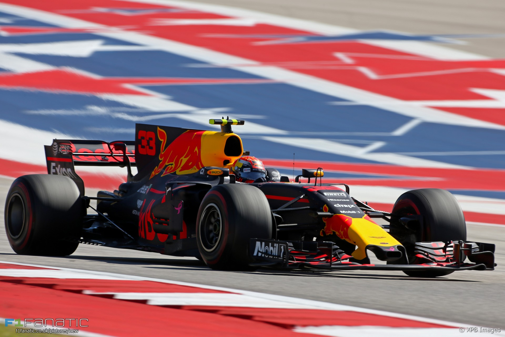 Max Verstappen, Circuit of the Americas, Red Bull, 2017
