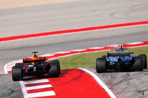Ricciardo: Verstappen was penalised because he cut the corner
