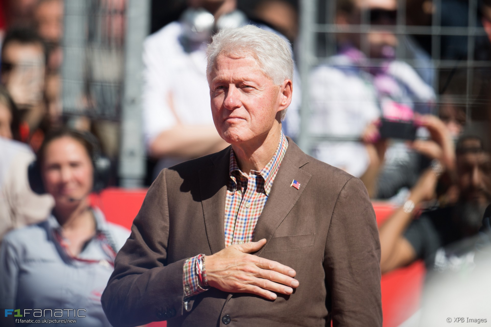Bill Clinton Circuit Of The Americas 2017 183 Racefans