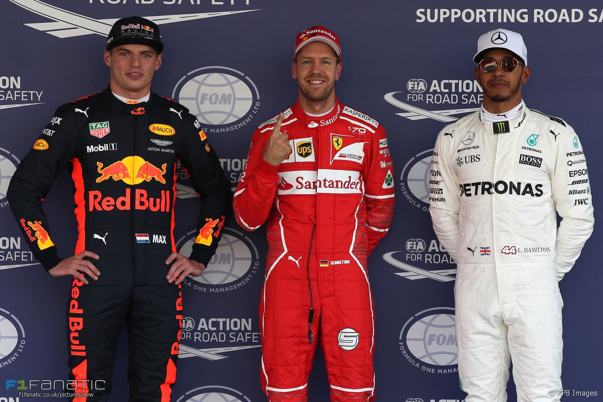 Sebastian Vettel, Ferrari, Autodromo Hermanos Rodriguez, 2017