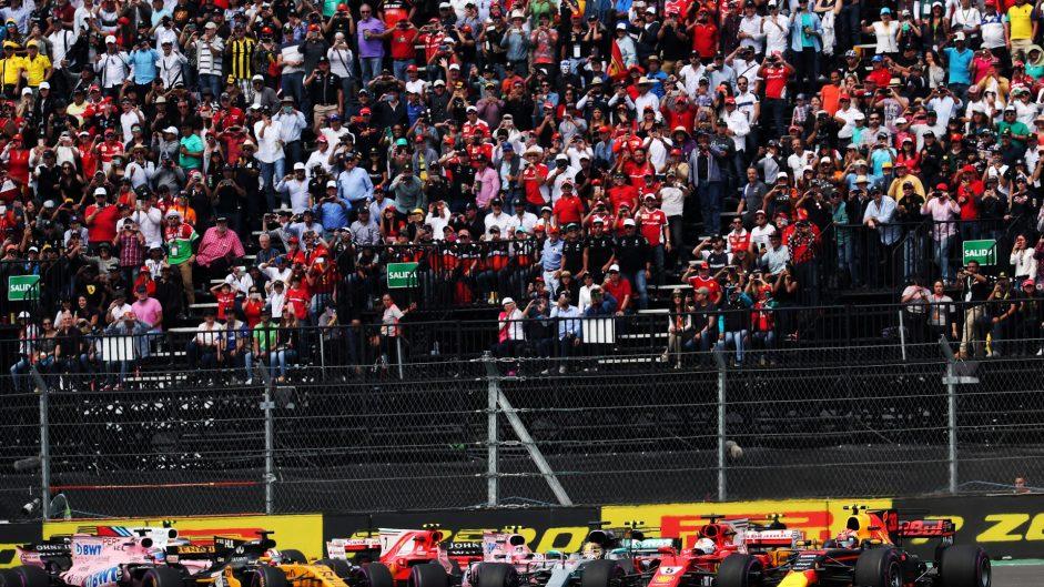 Start, Autodromo Hermanos Rodriguez, 2017