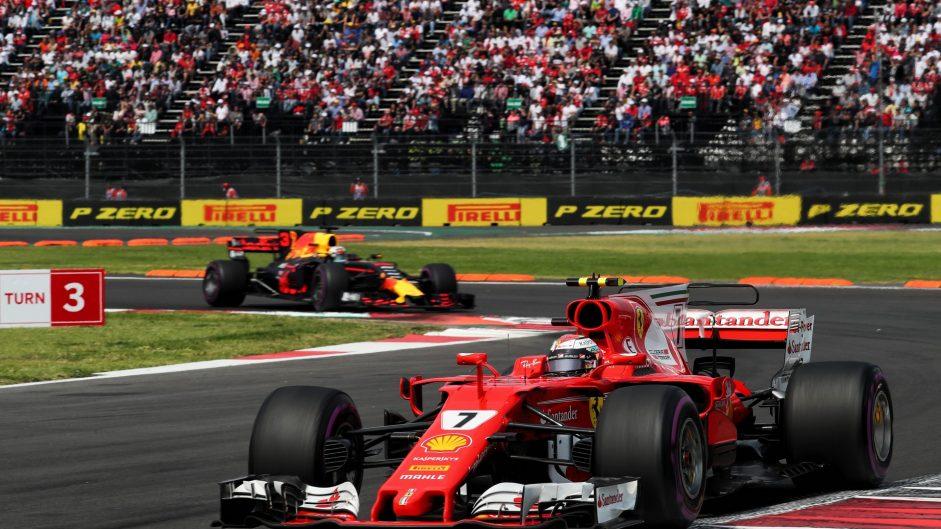 Kimi Raikkonen, Ferrari, Autodromo Hermanos Rodriguez, 2017