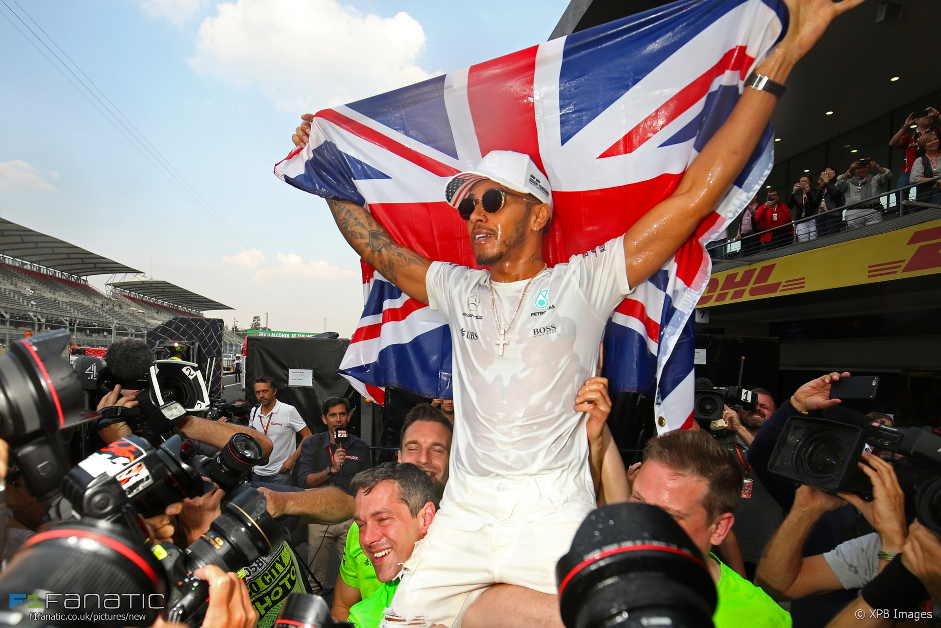Lewis Hamilton, Mercedes, Autodromo Hermanos Rodriguez, 2017