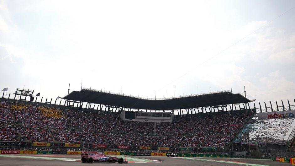 Sergio Perez, Force India, Autodromo Hermanos Rodriguez, 2017