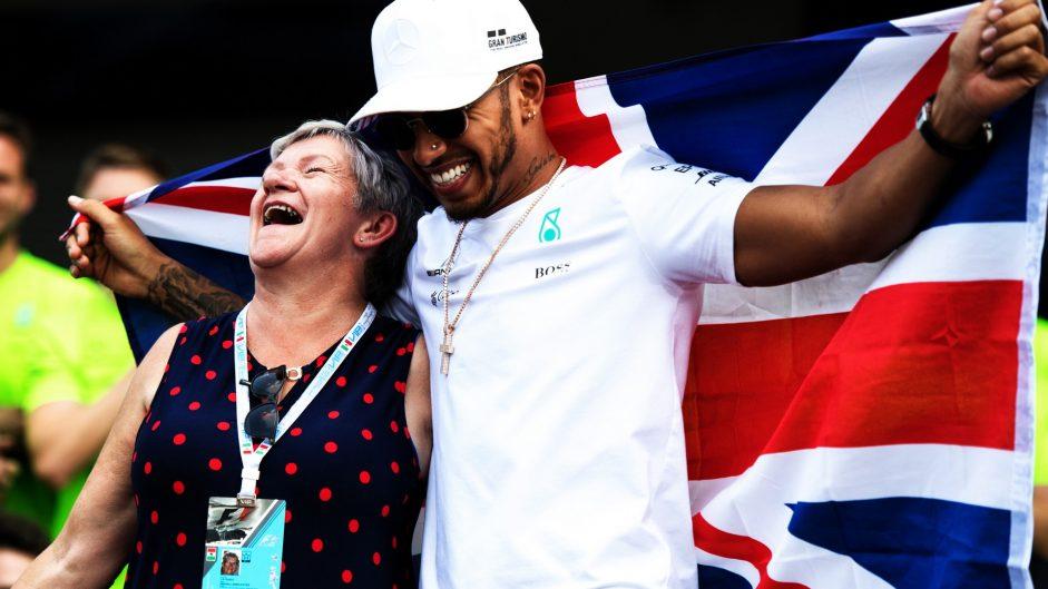 Carmen Larbalestier, Lewis Hamilton, Autodromo Hermanos Rodriguez, 2017