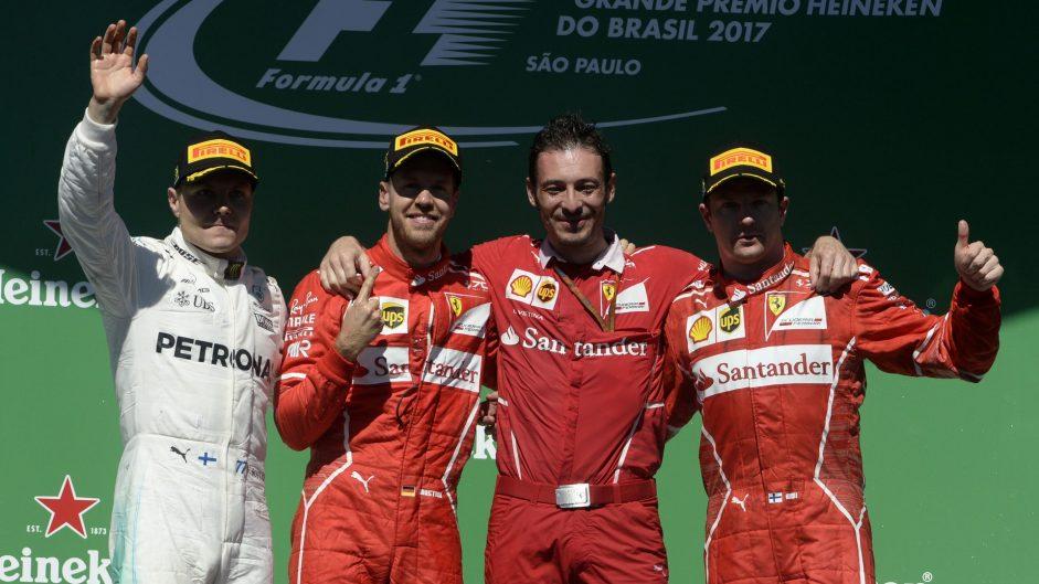 2017 Brazilian Grand Prix Predictions Championship results