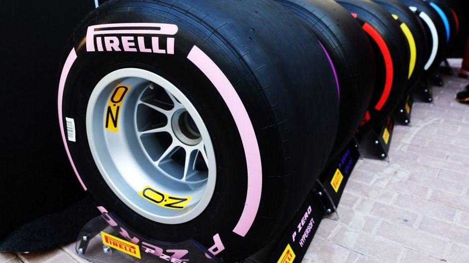 Tyres, Yas Marina, 2017