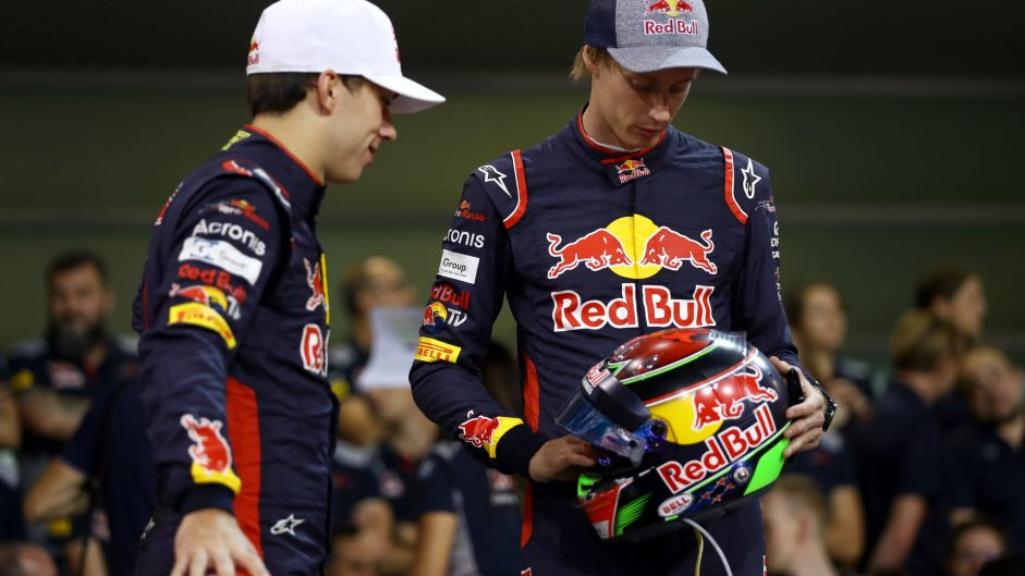Pierre Gasly, Brendon Hartley, Toro Rosso, Yas Marina, 2017