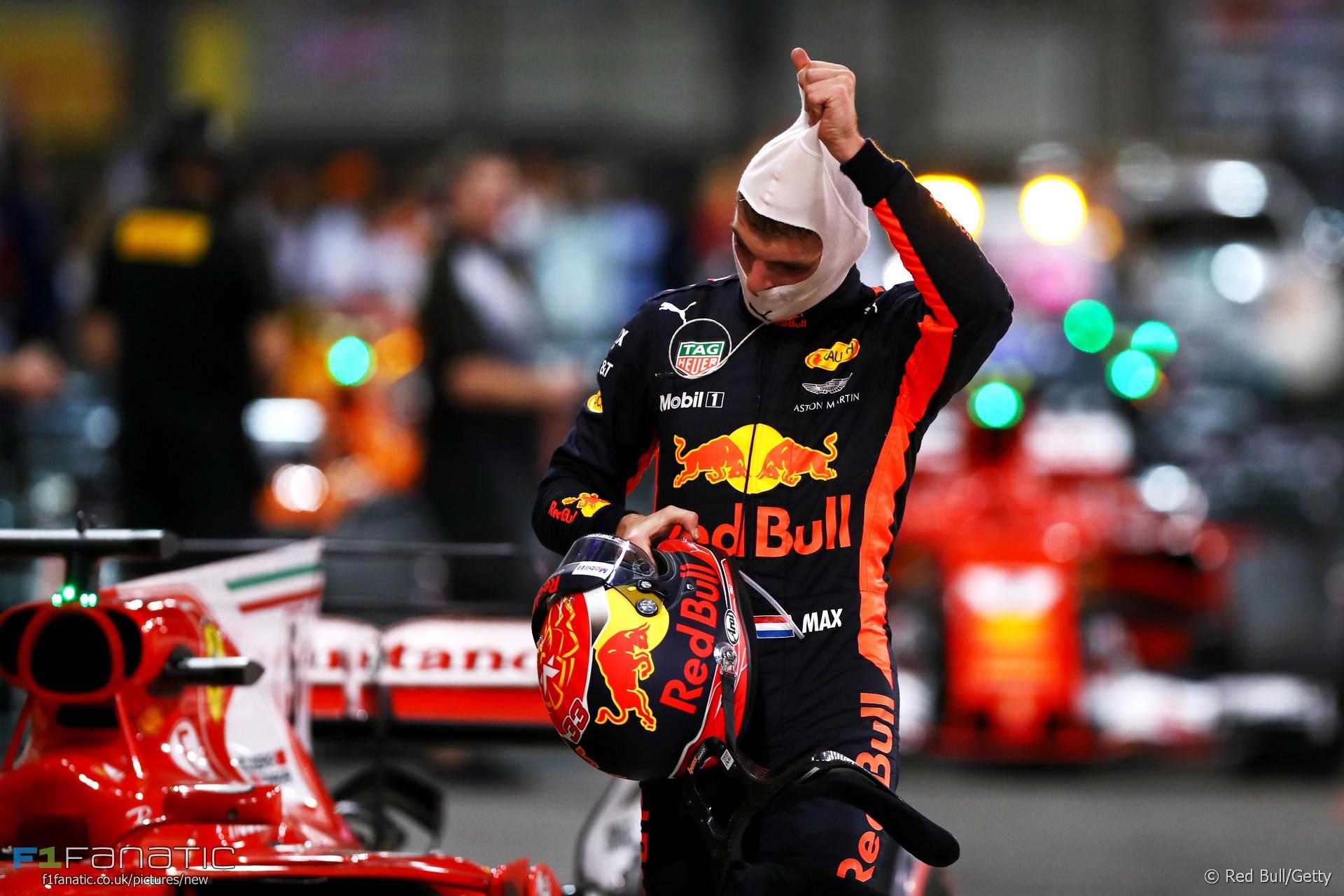 Max Verstappen, Red Bull, Yas Marina, 2017