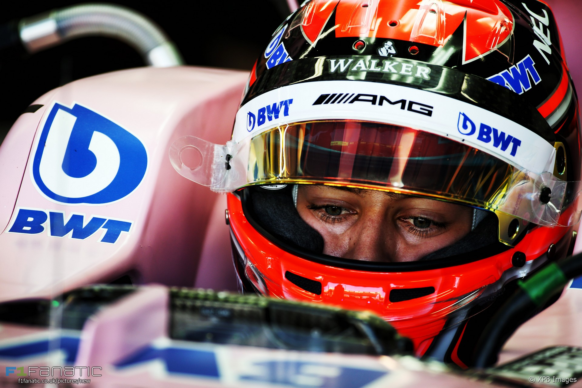 George Russell, Force India, Interlagos, 2017