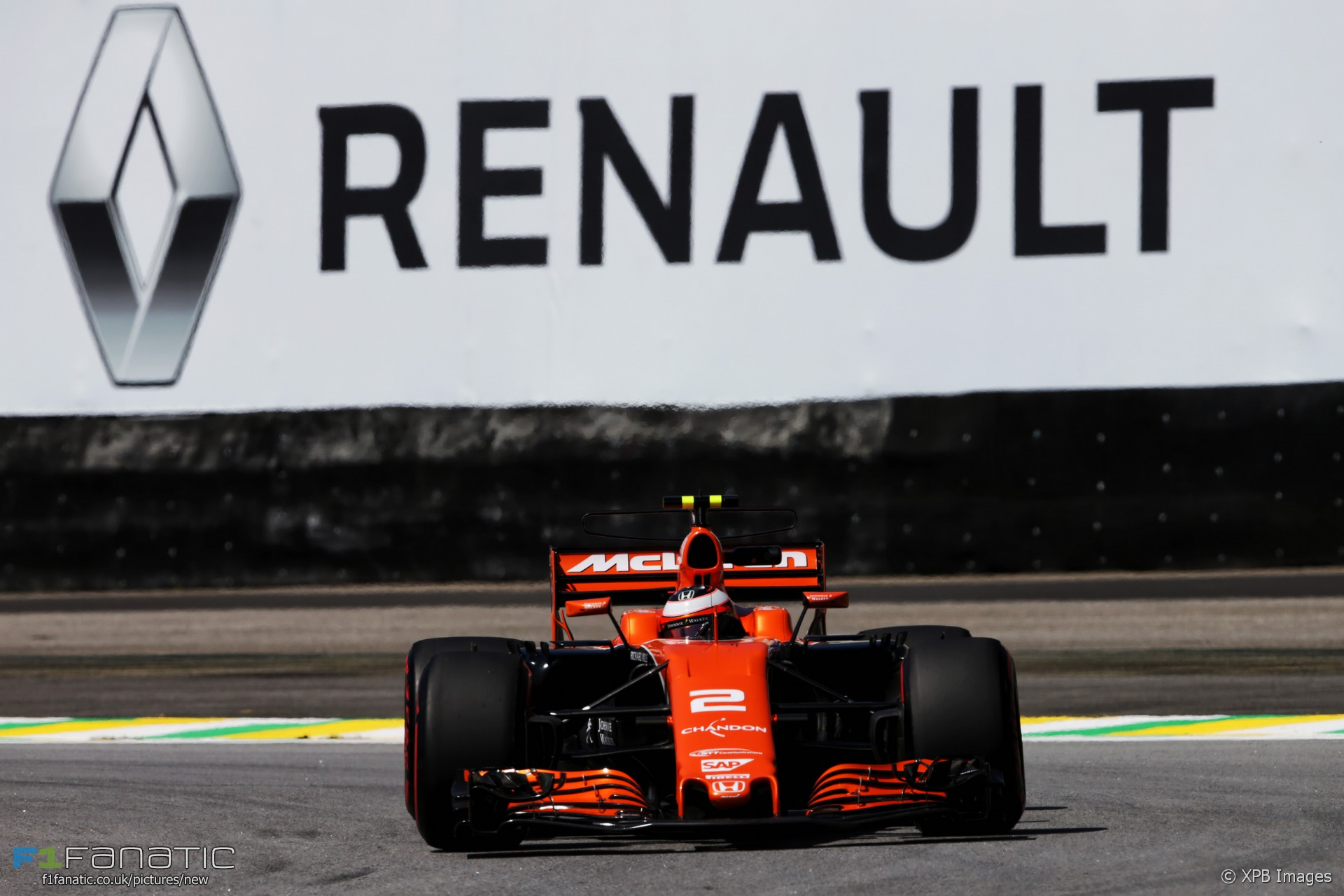 Stoffel Vandoorne, McLaren, Interlagos, 2017