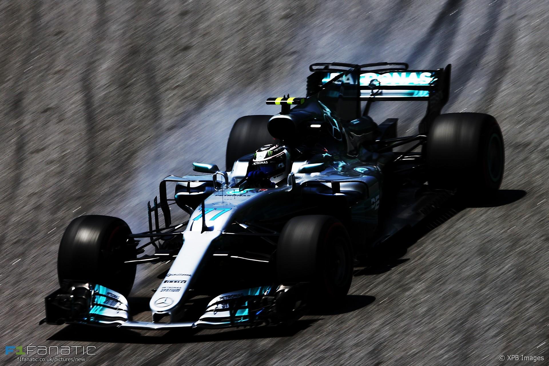 Valtteri Bottas, Mercedes, Interlagos, 2017