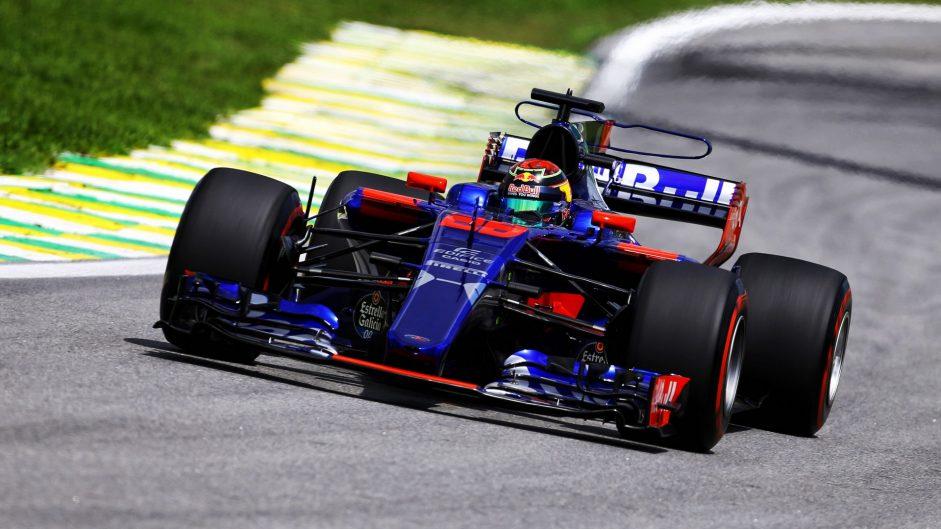 Brendon Hartley, Toro Rosso, Interlagos, 2017