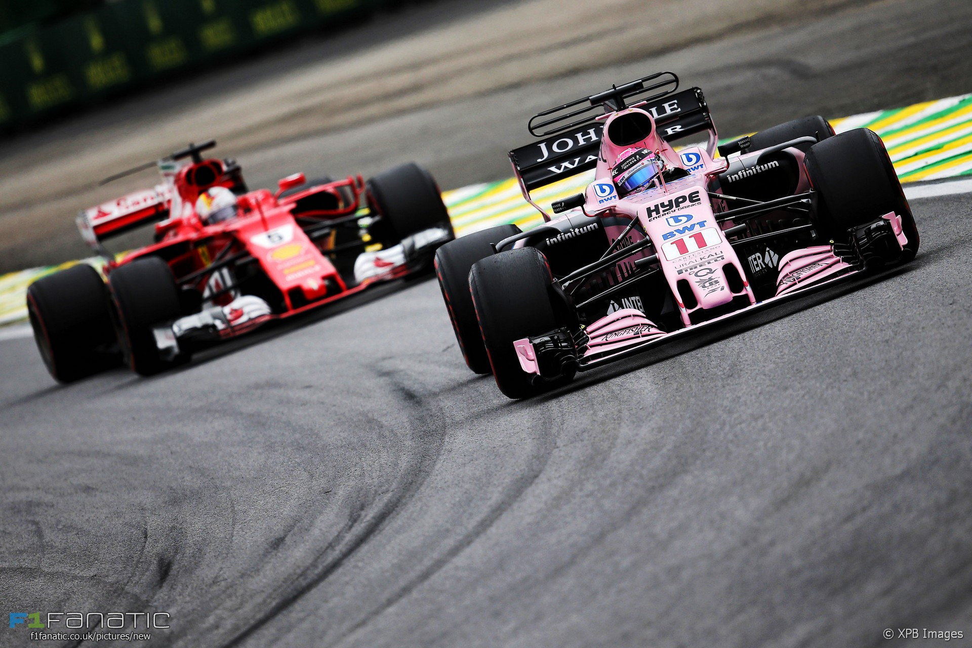 Sergio Perez, Force India, Interlagos, 2017