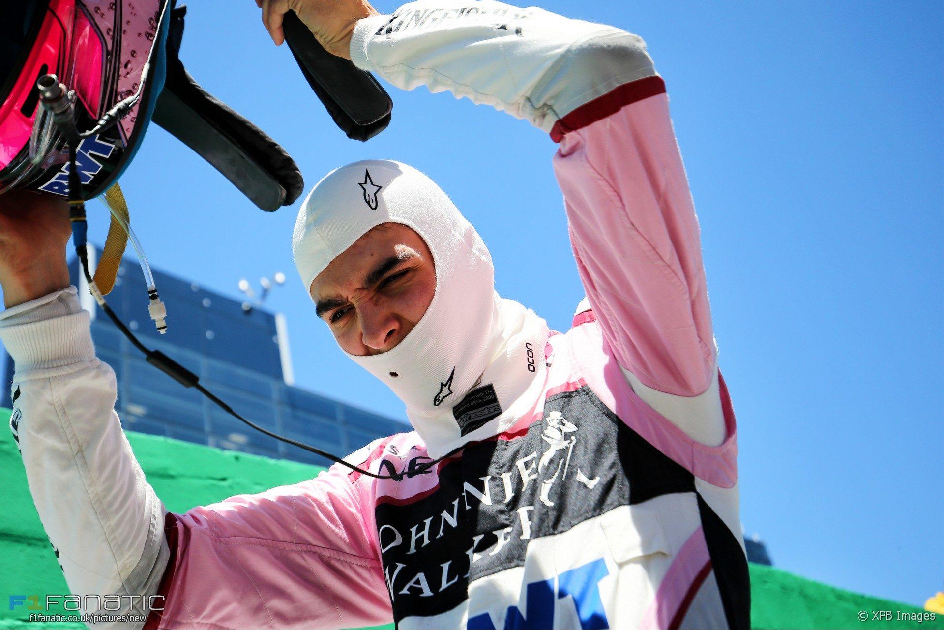 Esteban Ocon, Force India, Interlagos, 2017