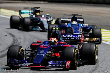 Pierre Gasly, Toro Rosso, Interlagos, 2017