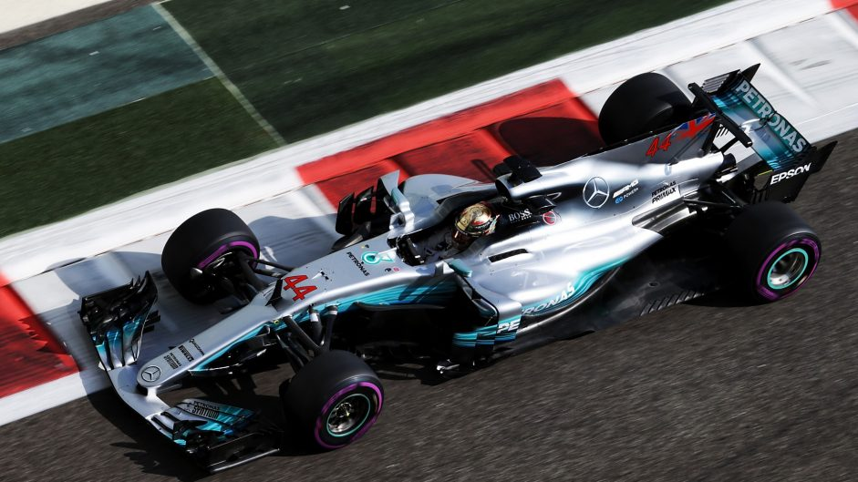 Hamilton on top as practice ends