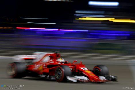Sebastian Vettel, Ferrari, Yas Marina, 2017