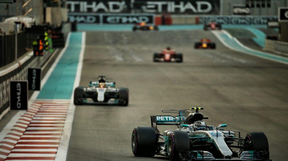 2017 Abu Dhabi Grand Prix race result