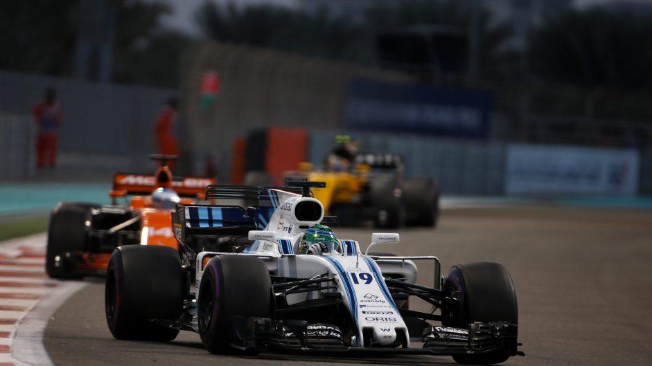 Felipe Massa, Williams, Yas Marina, 2017