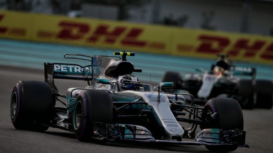 Valtteri Bottas, Mercedes, Yas Marina, 2017