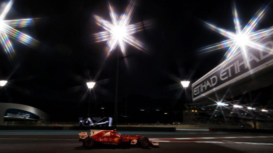 Kimi Raikkonen, Ferrari, Yas Marina, 2017