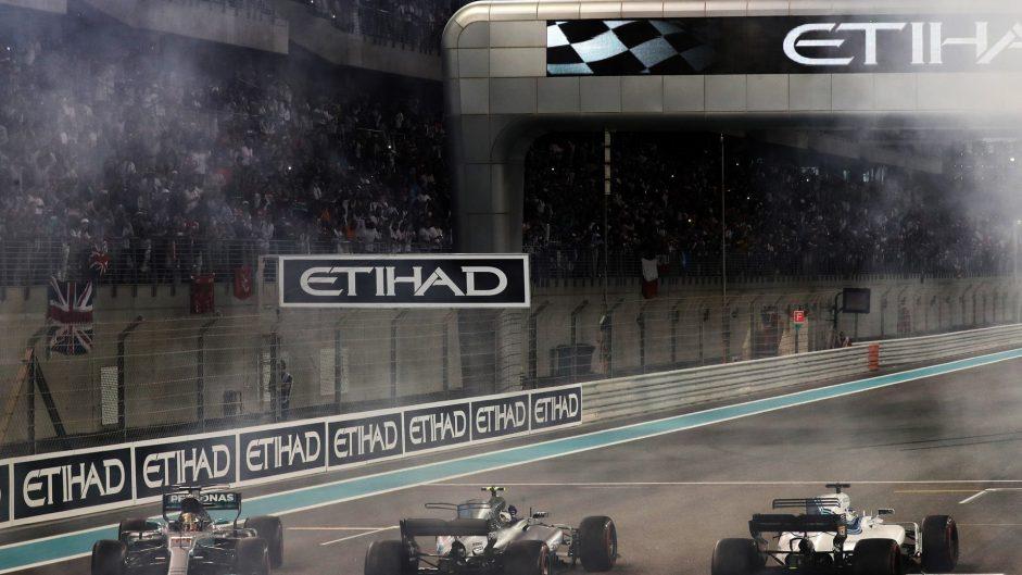 Lewis Hamilton, Valtteri Bottas, Felipe Massa, Yas Marina, 2017