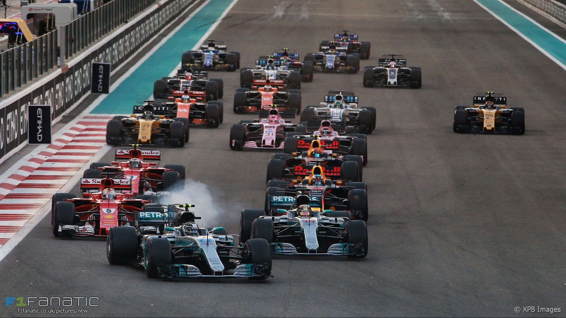 formel 1 start abu dhabi