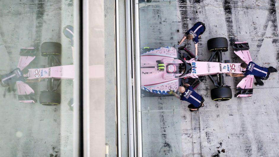 Nikita Mazepin, Force India, Yas Marina, 2017