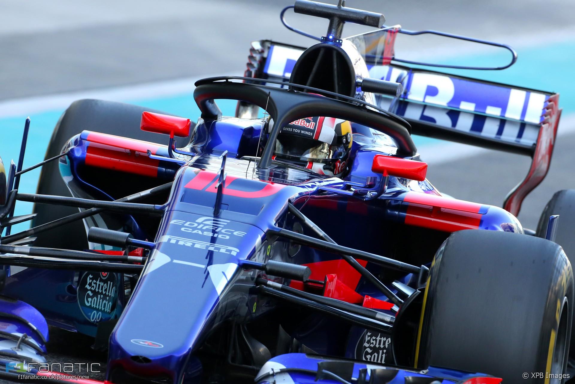 Pierre Gasly, Toro Rosso, Yas Marina, 2017
