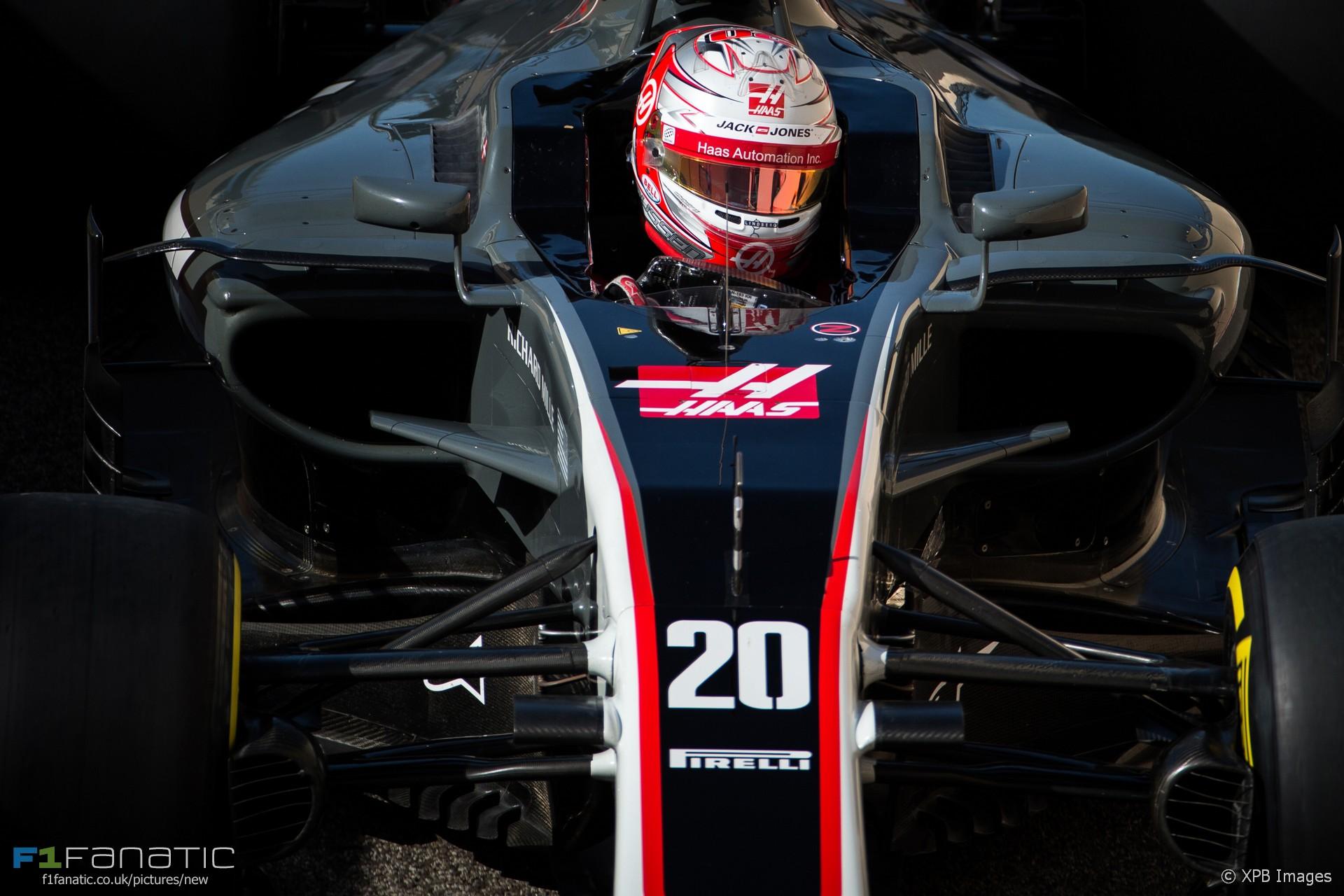Kevin Magnussen, Haas, Yas Marina, 2017