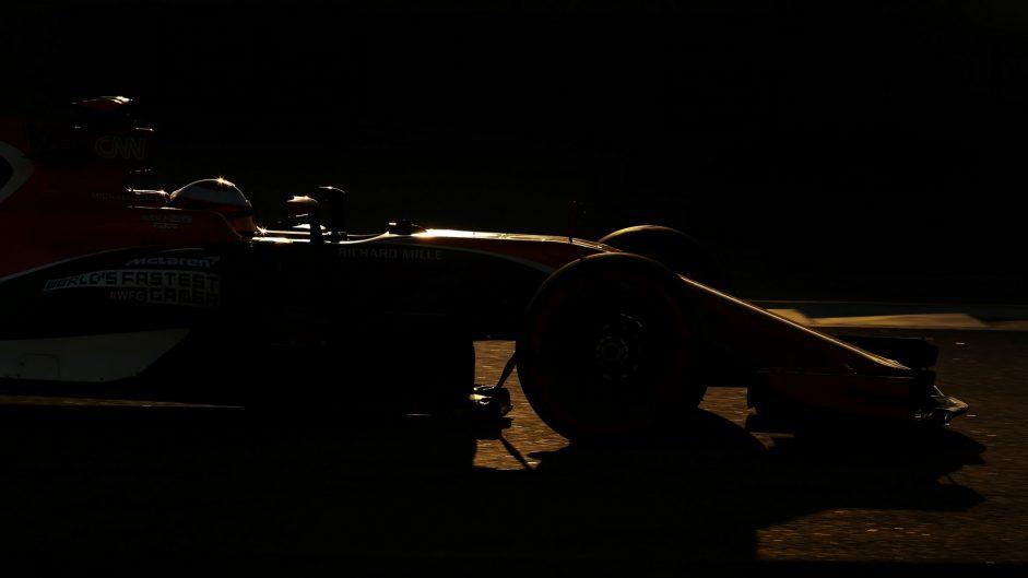 Stoffel Vandoorne, McLaren, Yas Marina, 2017