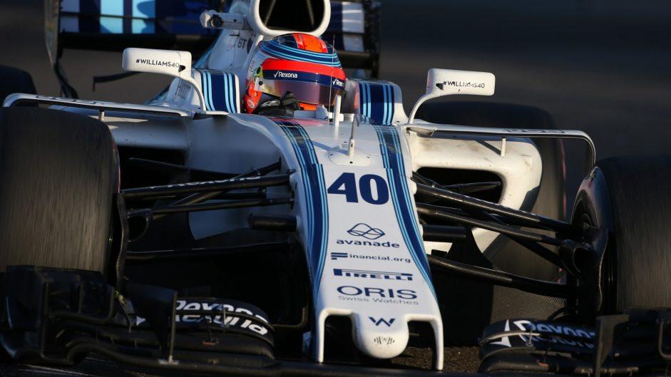 Robert Kubica, Williams, Yas Marina, 2017