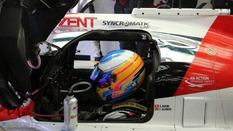 Fernando Alonso, Toyota, World Endurance Championship, Bahrain, 2017