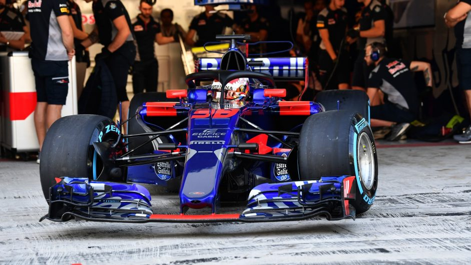 Abu Dhabi F1 Testing Day One