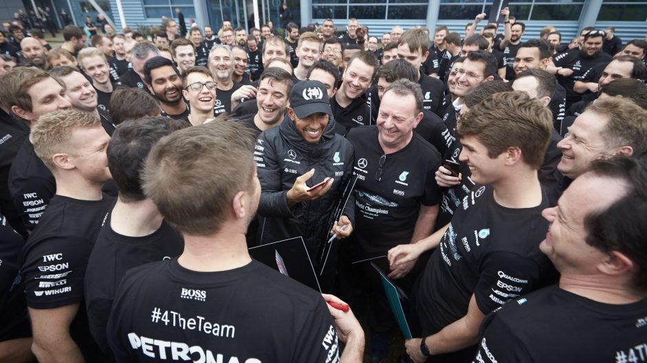 Lewis Hamilton, Mercedes, 2017
