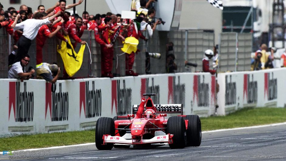 Hamilton matches Schumacher by scoring points in every race