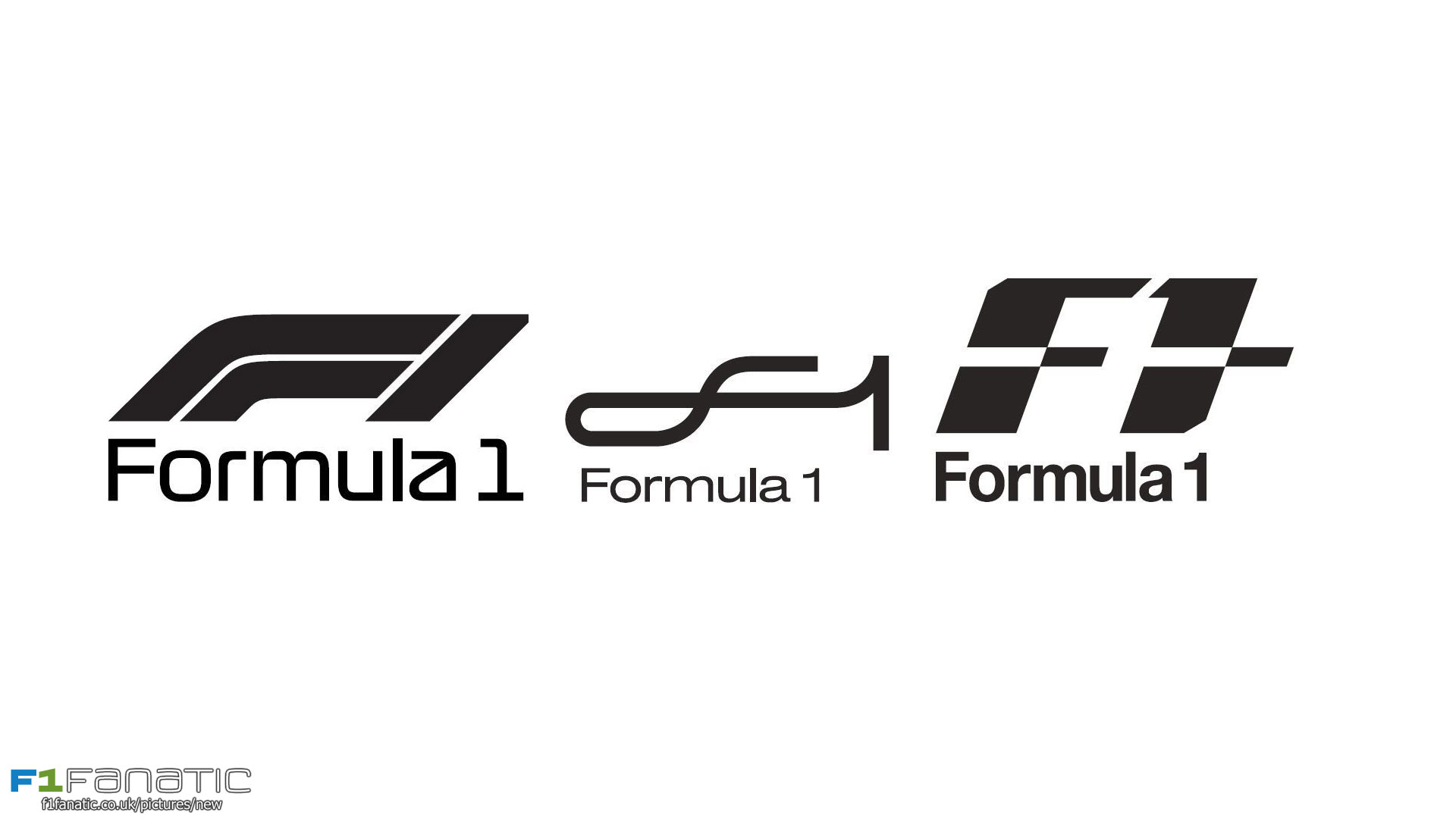 analysing the current and new f1 logo formula1. Black Bedroom Furniture Sets. Home Design Ideas