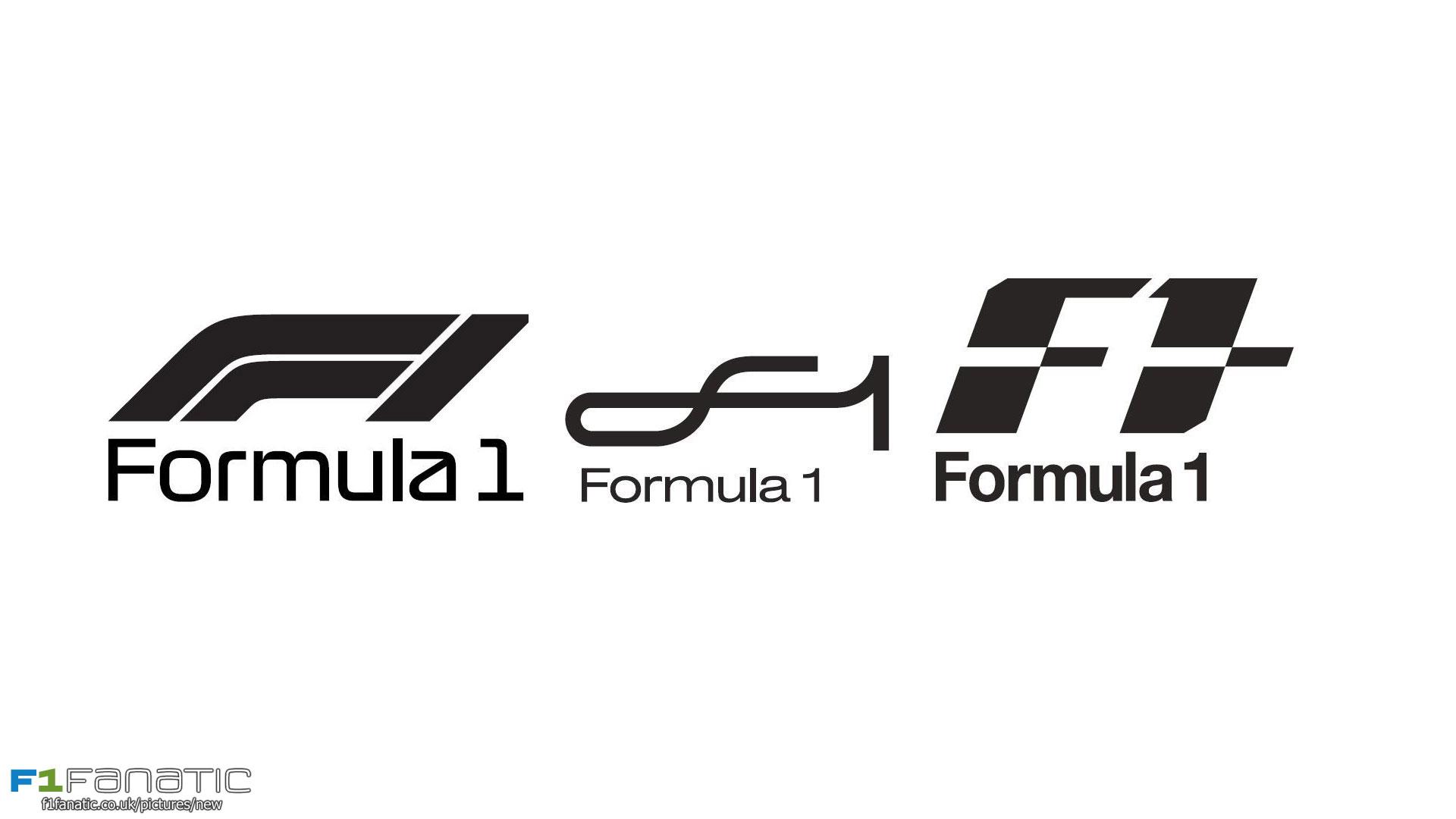 New F1 logos, 2017