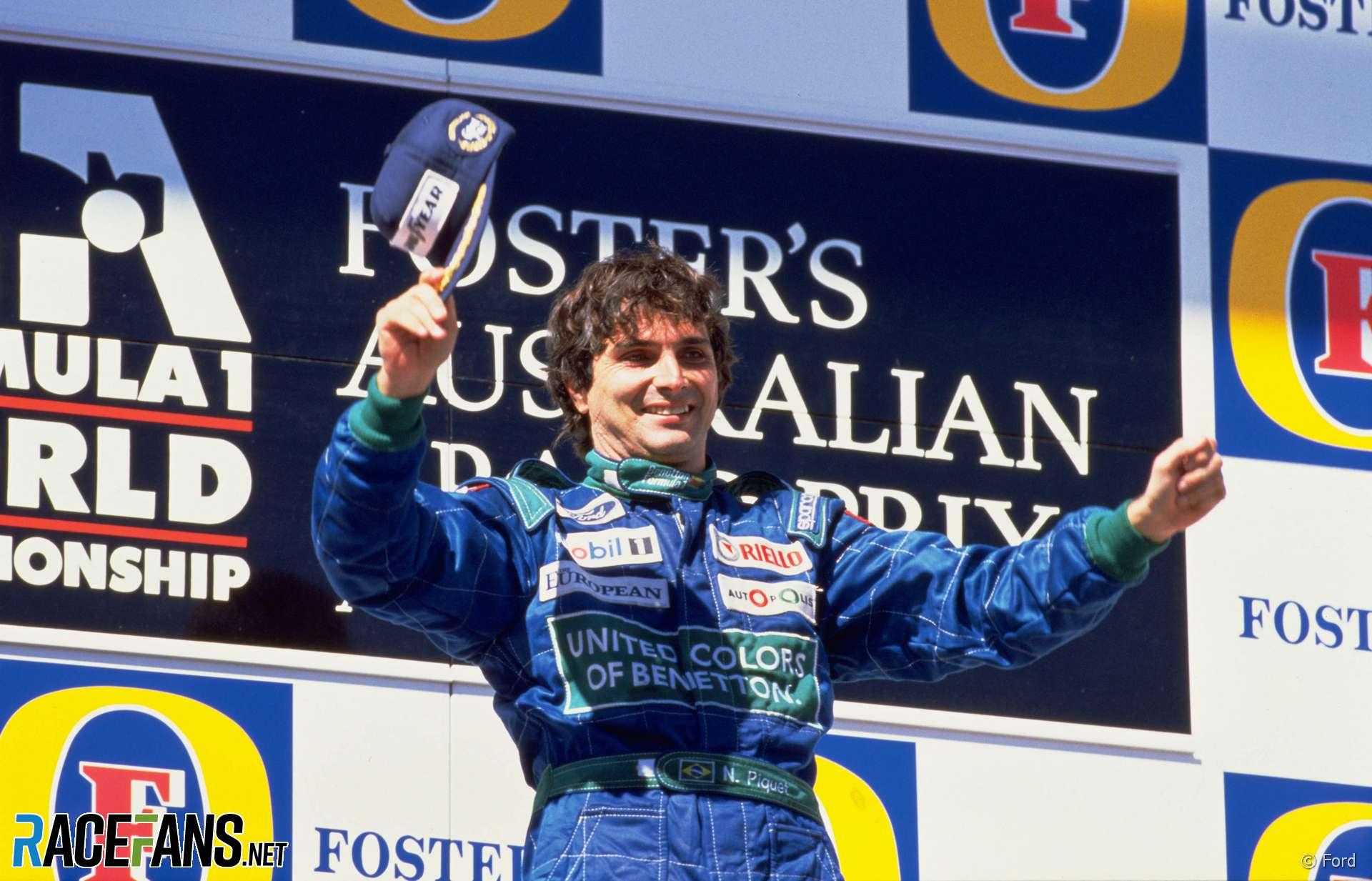 Nelson Piquet, Benetton, Adelaide, 1990