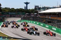 2018 Brazilian Grand Prix TV Times