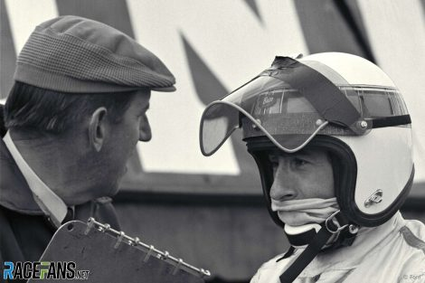 Ken Tyrrell, Jackie Stewart, Daily Express Trophy Meeting, Silverstone, 1969.