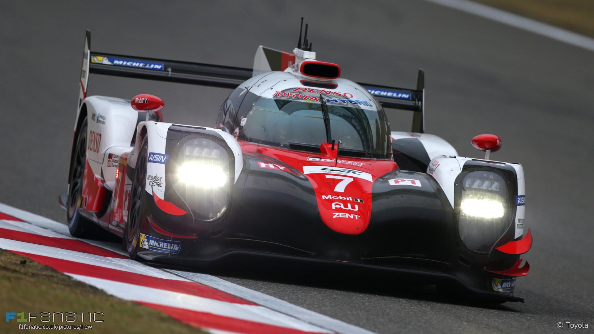 Toyota, Shanghai International Circuit, World Endurance Championship, 2017