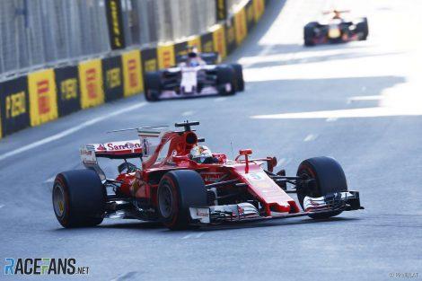 Sebastian Vettel, Ferrari, Baku, 2018