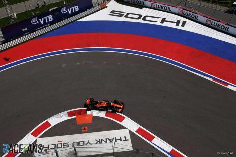 McLaren, Sochi, 2017