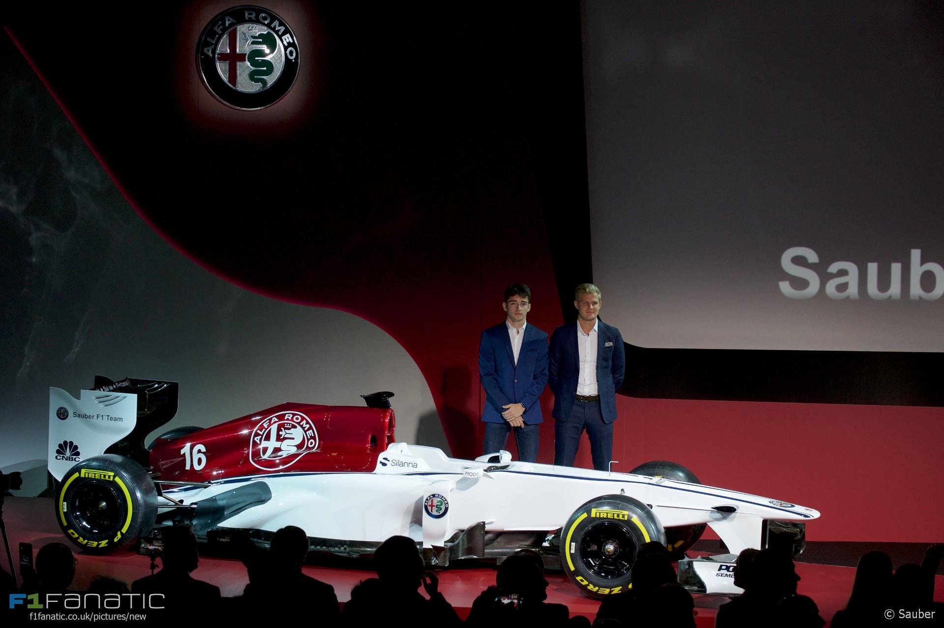 Charles Leclerc, Marcus Ericsson, Sauber, 2017