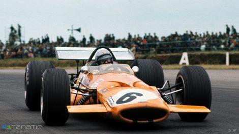 Bruce McLaren, McLaren, Silverstone, 1969