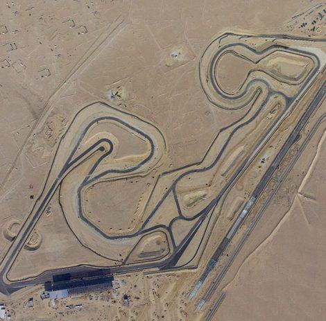 Kuwait Motor Town aerial photograph