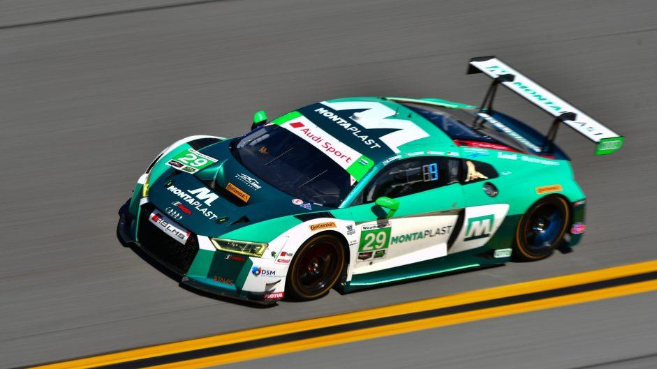 Land Motorsport Audi R8 LMS GT3. Daytona 24 Hours, 2018